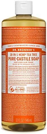 Dr. Bronner's Pure-Castile Liquid Soap - Tea Tree 32oz