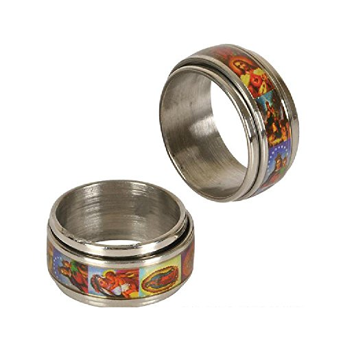 Religious Surgical Ring by Bargain World