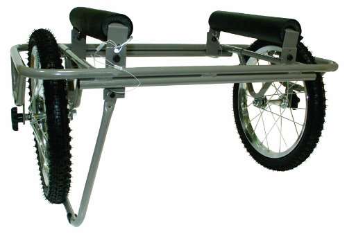 (Seattle Sports Paddleboy ATC All-Terrain Center Kayak and Canoe Dolly Carrier Cart)