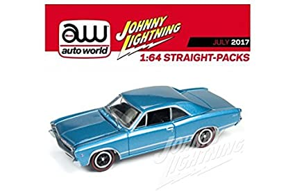 Amazon Com 1 64 Muscle Cars Usa 1967 Chevrolet Chevelle Jlmc006