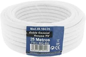 Cablematic-Coaxial D 'Antena de TV por cable (25m)