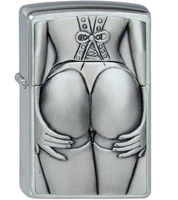 Zippo Lighter Stocking (Zippo Black Ice Seductive Silhouette)