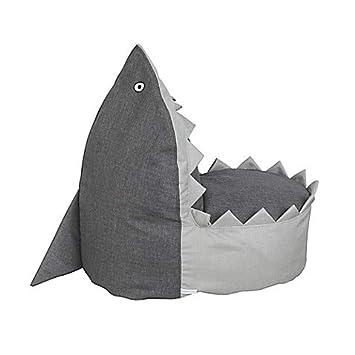 Amazon.com: Nursery Smart Sharky The Baby Shark - Puf para ...