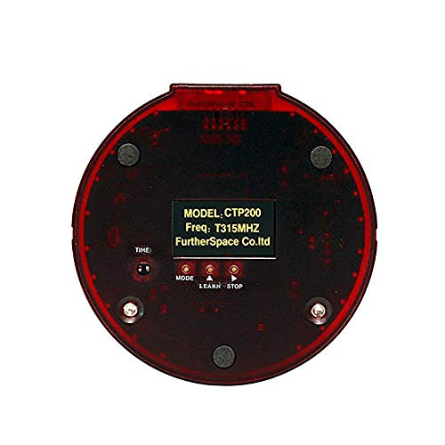 CATEL Wireless Calling System Restaurant Pager System with 10pcs Coaster Pagers and 1pc Call Button Keypad Transmitter for Fast Food Court Church Clinic Coffee Shop Office by CATEL (Image #5)