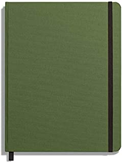 product image for Shinola Journal, HardLinen, Ruled, Olive (7x9)