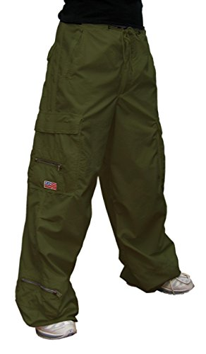 UFO's Micro Twill Canteen Pant, Olive (Medium)