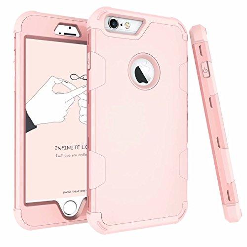 Mincol-us La Funda iPhone 6Plus / iPhone 6S Plus, la Funda es un chasis Resistente con PC y Silicona Suave para iPhone 6Plus...