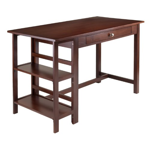 Winsome Wood 94550 Velda Home Office, Antique Walnut ()