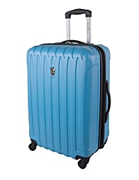 Atlantic Necessity Collection 24-Inch Upright with Expansion, Sky Blue, Checked-Medium
