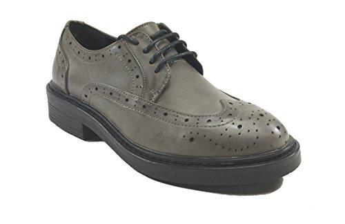SARA LOPEZ - Zapatos de cordones de Material Sintético para mujer topo