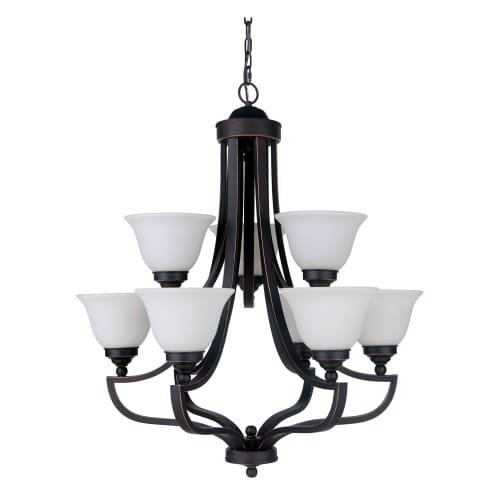 Jeremiah by Craftmade Portia 9835 Chandelier