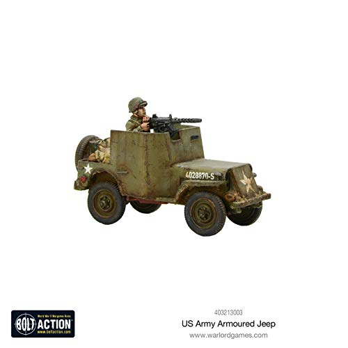 Bolt Action Revised Us Armoured Jeep Blister - R+m