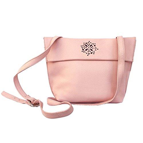 Para A Cortado Con Decorativo Counties Rosa Modelo Bolso Mujer Eastern Láser Claro Heather Leather Detalle wPxFHqPf0