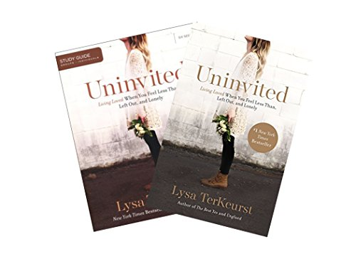 Lysa Terkeurst - Uninvited Study Set (Book + Study Guide)
