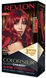 REVLON Colorsilk - Crema colorante para el cabello sin amoniaco, 55RR rojo intenso vivo