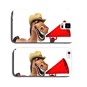Fun horse cell phone cover case iPhone6
