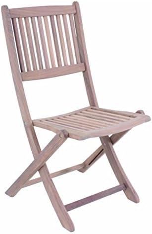 Sillas de Jardín Teca DANANG silla plegable madera de teca Balcón Muebles Muebles de Jardín Teca: Amazon.es: Jardín