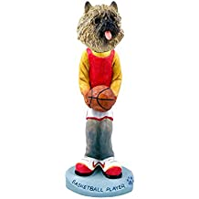 Cairn Terrier Red Basketball Doogie Collectable Figurine
