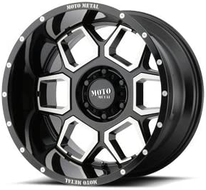 MOTO METAL MO981 SPADE Gloss Black Machined Wheel with Painted and Chromium 20 x 12. inches //8 x 125 mm, -44 mm Offset hexavalent compounds