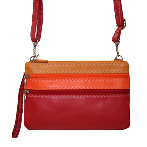 belarno-womens-a212s-wristlet-crossbody-bag-red