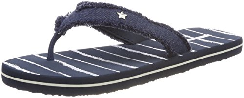 ESPRIT Stripe Danny Donna Ciabatte Blu Navy w4wSrqCpTa