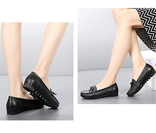 FLYRCX shoes flat non Leather maternity shoes shoes single work mouth comfortable ladies shoes soft shallow bottom K casual slip rr7nwd4qTx