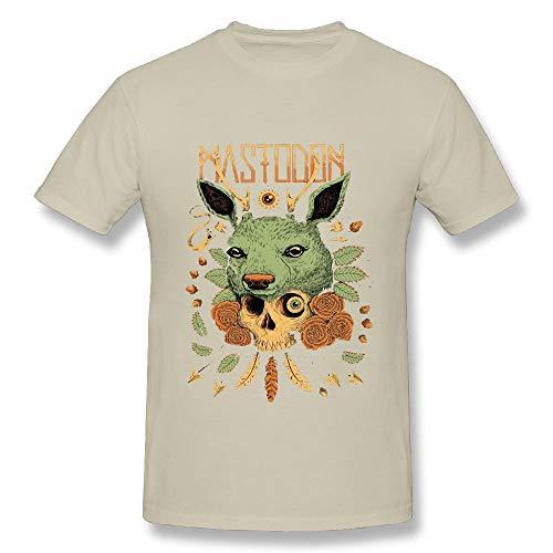 20739fdaea7ca Quliuwuda Connor Mens Mastodon Deer Humor Outdoor Natural T Shirts XL Short  Sleeve