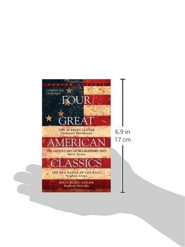 Four great american classics herman melville mark twain stephen four great american classics herman melville mark twain stephen crane 9780553213621 amazon books fandeluxe Gallery