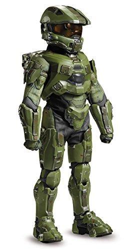 41FPPeGREGL - Master Chief Ultra Prestige Halo Microsoft Costume, Large/10-12