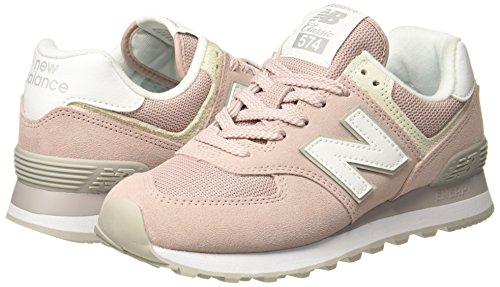 Esp pink Para Mujer Wl574v2 Zapatillas Balance Rosa New YPq0A