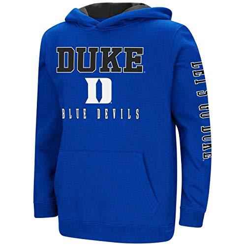 Duke Practice Hoody - Duke Blue Devils Youth Colosseum Berminator Zone II Hoodie - Youth - L (16-18)