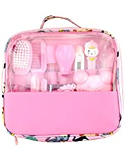 DAMEING Essential Baby Healthcare and Grooming Kit Set Baby Care New Born Healthcare Kits Baby Nail Care Cleaning Set for Infants Newborns Kids Boys and Girls