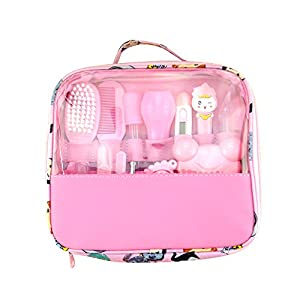 Doolland Healthcare and Grooming Kit,Baby Care Kit Infant Complete Nursery Baby Healthcare Kit Set Safety Best Package…