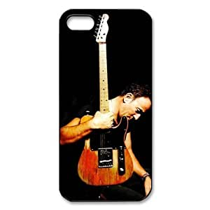 Bruce Springsteen Super Rock Star Custom Hard Plastic Back Case Cover for iPhone 5 5S