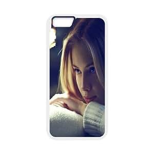 [Beautiful Girls] Beautiful Girl Case for IPhone 6 Plus {White}