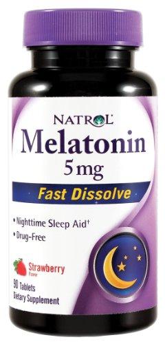 Natrol Melatonin Dissolve tablets Health
