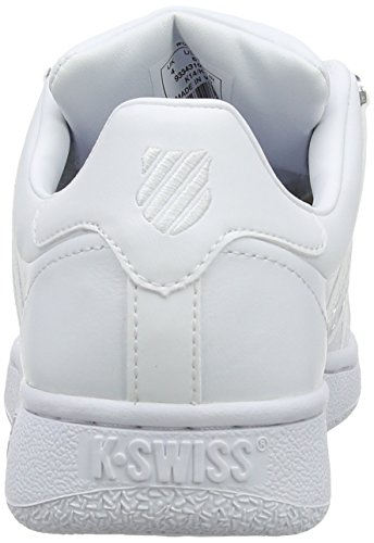 K-Swiss Classic Vn M - Zapatillas para mujer Blanco - White (White/White)