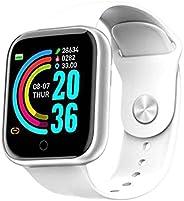 Bluetooth Smart Watch,1.3 Inch Touchscreen Fitness Wristwatch Smart Watch Fitness Tracker Watches for Men Wome