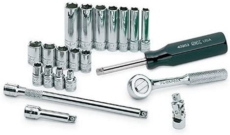 SK Inexpensive Professional Tools At the price 89009 21-Piece ¼ 6-Point in. Drive Standar