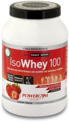 Isowhey 100 Fresa 1Kg. (100% Whey Protein Isolate) Suplemento ...