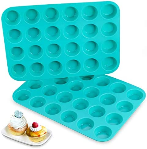 Silicone Muffin Pan Cupcake Approved