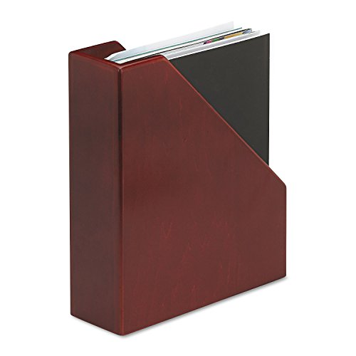 Eldon Office Products 4079 Wood Tones Magazine File, 3 1/2 x 10 1/4 x 11 3/4, Mahogany (Eldon File Holder compare prices)