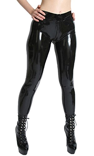 AvaCostume Womens Latex Rubber Jeggings