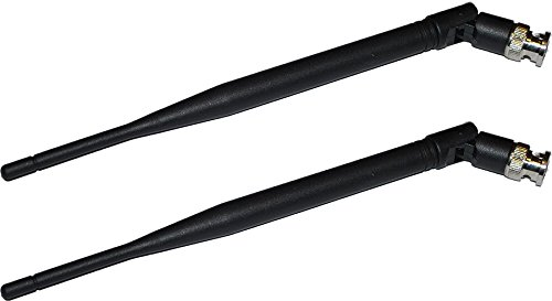 Line Receiver (Pair Half Wavelength Antennas with BNC Connectors for Line 6 Wireless Receivers)