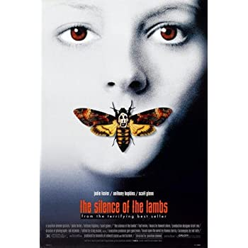 The Silence Of The Lambs Classic Large Movie Poster Print