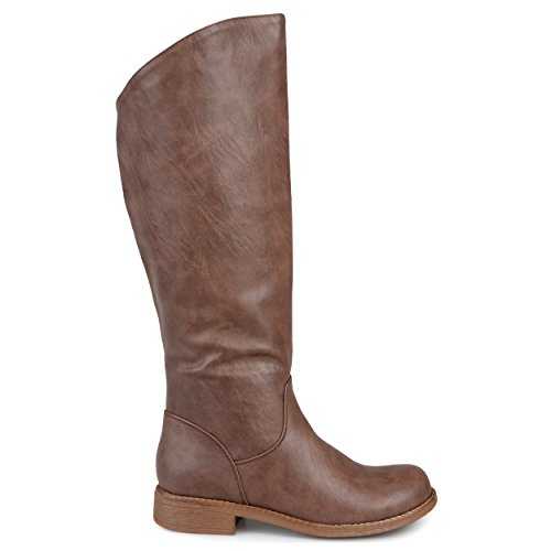 Regular Women's Brinley Wide amp; Riding Wide Brown Calf Trina Co Boot w46qa