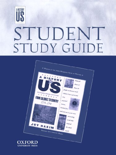 Teaching Guide for From Colonies to Country Book 1735-1791 (A History of Us)