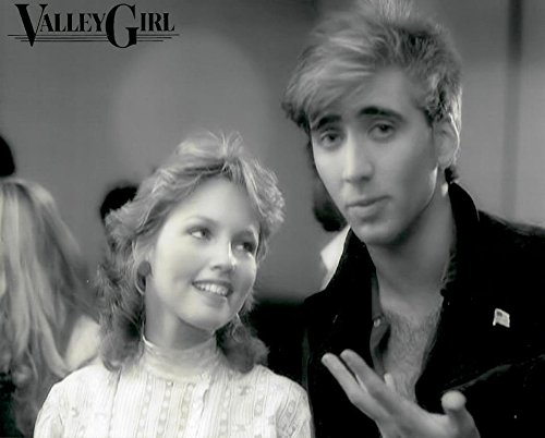 Valley Irish colleen Deborah Foreman as Julie and Nicolas Cage as Randy 8 x 10 Inch Photo LTD3