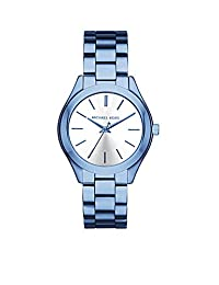 Michael Kors Women's Quartz Stainless Steel Casual Watch, Color:Blue (Model: MK3674)