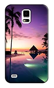 Beach Hard Back Shell Case / Cover for Samsung Galaxy S5